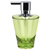 Spirella Max-Light Acrylic Soap Dispenser - Olive