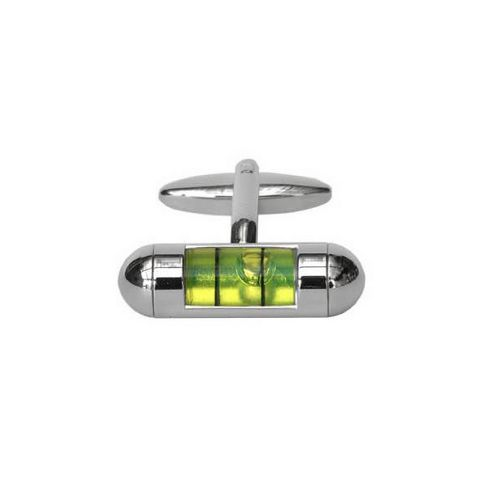 Maze Spirit Level Cufflinks