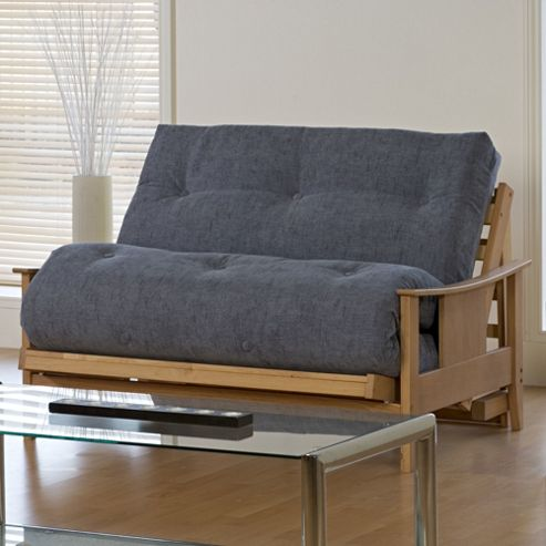 Kyoto Atlanta 2 Seater Convertible Sofa Clic Clac Bed - Louisa Charcoal
