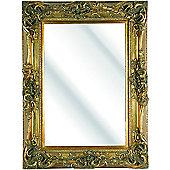 D & J Simons Windsor Mirror - Gold - 152cm H x 122cm W