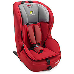 KinderKraft Safety Fix Isofix Group 1,2,3 Car Seat (Red)