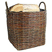 Log Baskets Rustic Brown