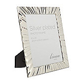 Linea Ripple Silver Plated Frame 8X10