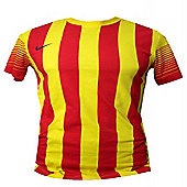 2013-14 Barcelona Nike Away Replica Tee - Red