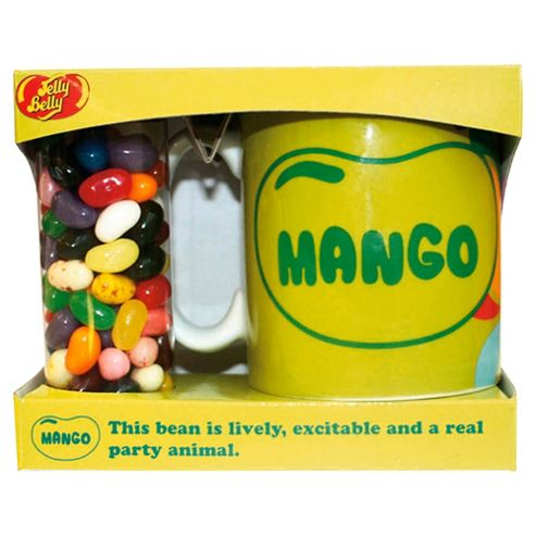 Jelly Belly Mango Mug Set