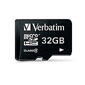 Verbatim 32GB Micro SDHC Card (Class 4)