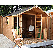 12ft x 8ft Tongue and Groove Summerhouse