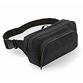 Bagbase 2.5L Organiser Waistpack Bag Black
