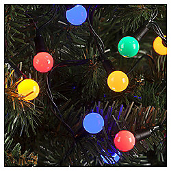 100 Berry Christmas Lights, Coloured