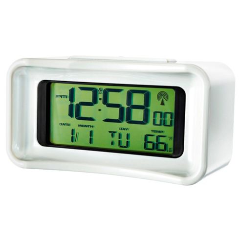 buy acctim taurus radio controlled digital alarm clock from our clocks range tesco. Black Bedroom Furniture Sets. Home Design Ideas