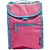 Sistema Fold Up Insulated Lunch Cool Bag, Pink
