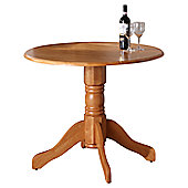 Wilkinson Furniture Brecon Drop Leaf Dining Table - Honey