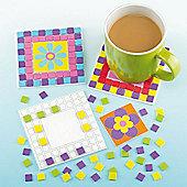 Flower Mosaic Coaster Craft Kits (Pack of 6)
