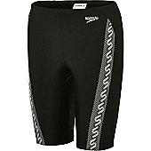 Speedo Boy's 'Monogram' Jammer - Black
