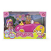 Pinypon Little Doll Car - Pink