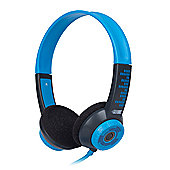FSL Protec Kids Headphones with Adjustable Volume Limiting (Blue)