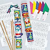 Christmas Cracker Kits for Children to Make(6 Pcs)