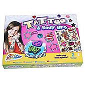 Grafix Tattoo And Body Art Stamp Set