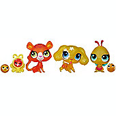 Littlest Pet Shop Colourfully Sweet Six Pack - Orange