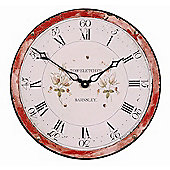 Roger Lascelles Clocks Antique Grandfather Clock Dial