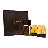 Azzaro Pour Homme EDT 100ml, Hair & Body Shampoo 75ml, After Shave Balm 75ml Set