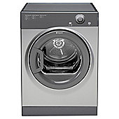 Hotpoint Aquarius TVFM70BGG Freestanding Vented Tumble Dryer, 7Kg Load, B Energy Rating, Graphite