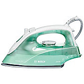 Bosch TDA2622GB 2000W Steam Shot Iron. Stainless Steel Soleplate in WhiteGreen