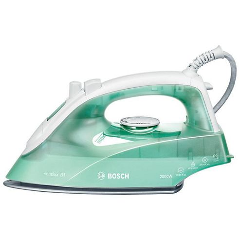 TDA2622GB 2000W Steam Shot Iron. Stainless Steel Soleplate in WhiteGreen