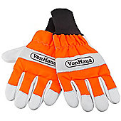 VonHaus Certified Chainsaw Safety Gloves