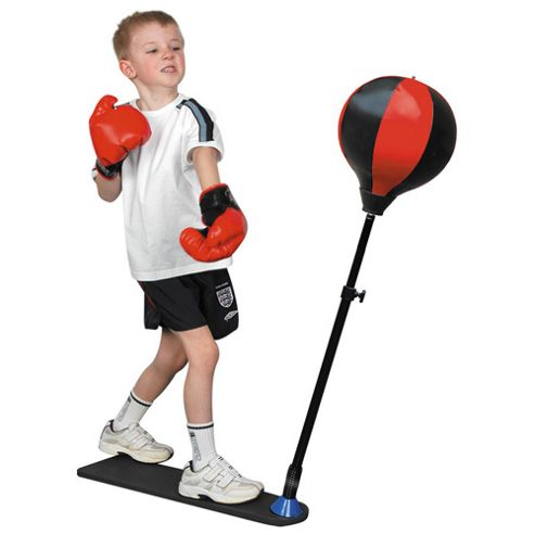 Toyrific Kids 80-120cm Boxing Punch Ball with Gloves & Stand