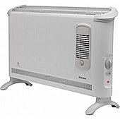 DIM-403TSF 3kW Convector Heater, 2 heat settings with Turbo Fan