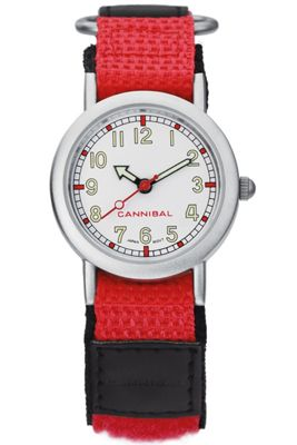Cannibal Kids Unisex Red Material Strap Watch CK002-06