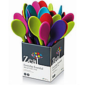 Zeal Silicone Cooks Spoon 30cm Mixed Colours