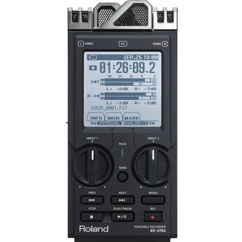 Roland R26 Portable Recorder