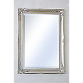 Large Elegant Decorative Antique Wall Mirror 3Ft X 2Ft2 (91Cm X 66Cm).