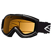 Smith Optics Cascade Air Ski Goggle Black/Gold lite