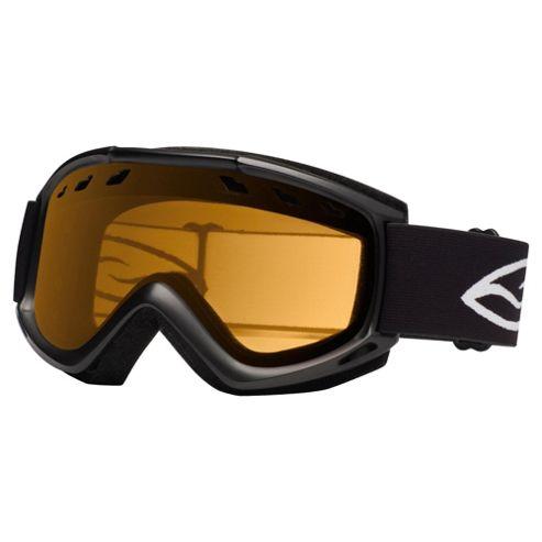 Smith Optics Cascade Air Ski Goggle Black/Gold lite