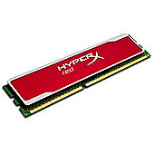 Kingston HyperX 8GB (1x8GB) Memory Module 1600MHz DDR3 Non-ECC 240-pin DIMM Red Series