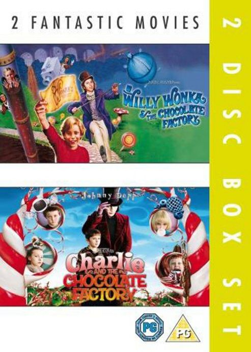 Charlie And The Chocolate Factory/Willy Wonka And The Chocolate Factory (DVD Boxset)
