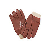 Kent Glove Pvc Knitwrist Red 8.5in