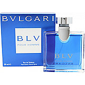 Bvlgari BLV Pour Homme Eau de Toilette (EDT) 50ml Spray For Men