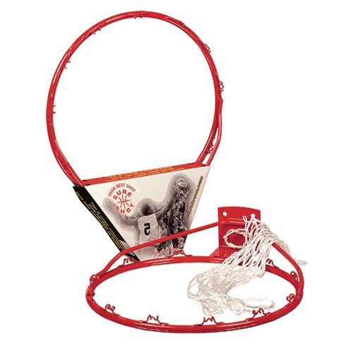 Sure Shot basketball ring and net set without backplate