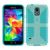 Speck Samsung Galaxy S5 CandyShell Grip Aloe Green/Caribbean Blue