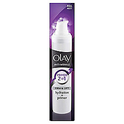 Olay Anti Wrinkle Firm & Lift 2 In 1 Moisturiser & Primer 50ML