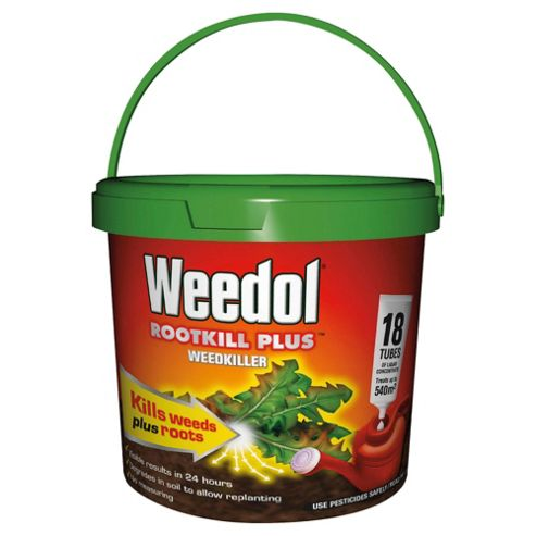 Weedol Rootkill Plus Tubes 18 Pk