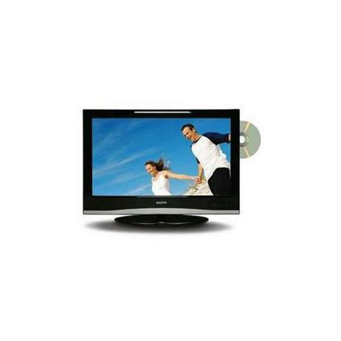 Sanyo CE22LD08DV-B 22inch Widescreen LCD TV with Freeview and Built in DVD