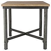 Arizona Metal/Wood Side Table