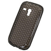 Tortoise™ Soft Gel Case Samsung Galaxy SIII Mini Honeycomb Black