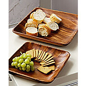 Premier Housewares Acacia 35cm Wood Serving Dish
