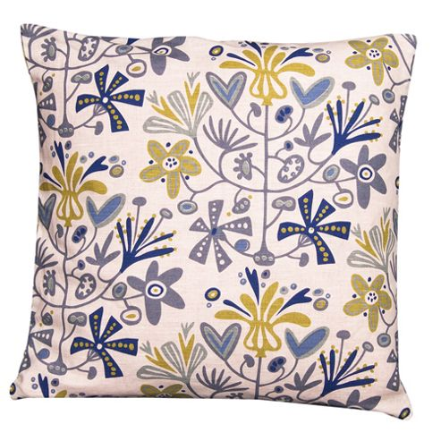 buy alma cushion cover blue from our cushions range tesco. Black Bedroom Furniture Sets. Home Design Ideas